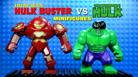 Lego Marvel The Minifig Series Bootleg lego iron hulkbuster vs the knockoff
