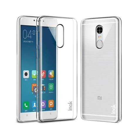 Xiaomi Redmi Note Imak 2 Ultra Thin imak 2 ultra thin for xiaomi redmi note 4 mediatek transparent