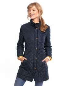 joules womens length quilted coat navy we believe