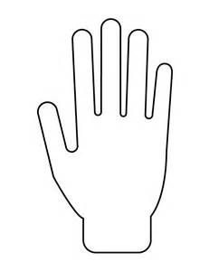 free coloring pages of h hands