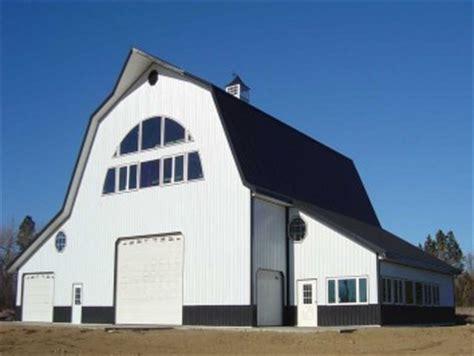 gambrel pole barn plans gambrel building designs archives hansen buildings
