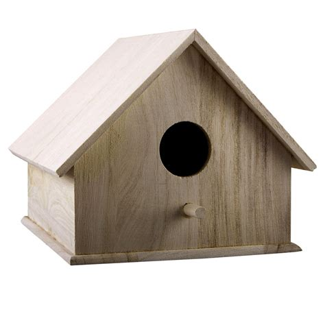 Yard Ideas by Artminds 174 Smooth Roof Birdhouse