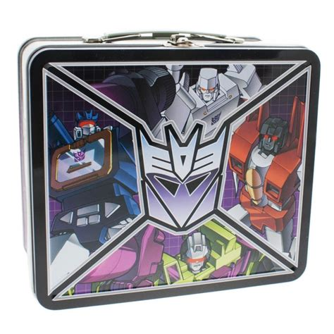 Transformer Pony Lunch school tin lunchboxes transformers zombies and more