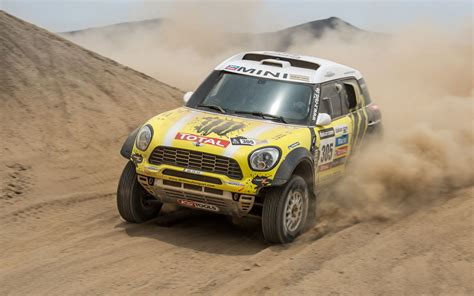 rally mini truck mini countryman dakar 2013 left front 195281 photo 7