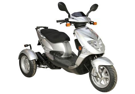 Dreirad Motorrad T Rex by Pgo Tr3 Trike Dreirad Roller Scooter 25 Km H Silber