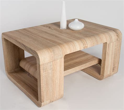 Extensible Table table basse bois clair