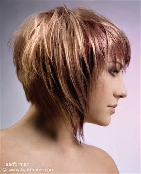 front back sides of bob hairstyles layered bob with spectacular longer sweeping sides