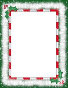 kerst layout word free printable page borders free downloadable templates