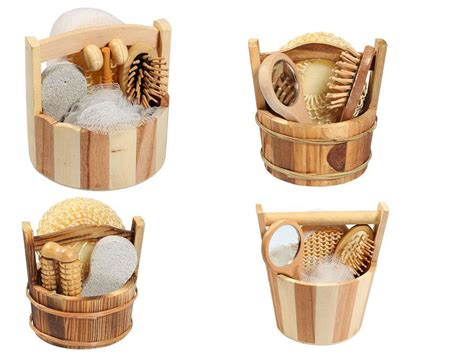 wooden bathroom accessory sets china wooden packing bathroom set bath accessory china