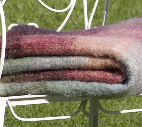 flauschige wolldecke flauschige mohairdecke in wundersch 246 nen warmen