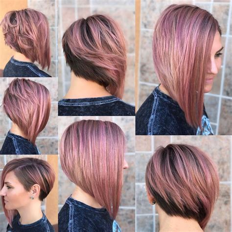lob haircut ideas edgy cuts hot  colors crazyforus