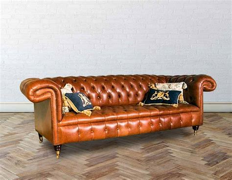 Chesterfield Sofas For Sale Uk Chesterfield 1857 Leather Sofas Made In Uk Designersofas4u
