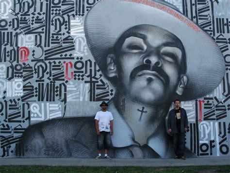 marvelous mural art  el mac  retna