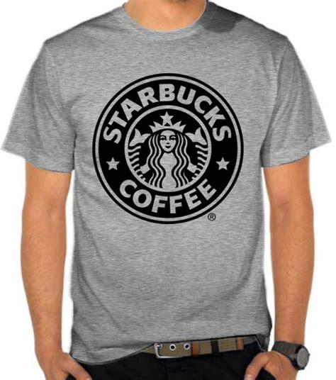 Kaos Kopi Adventure jual kaos starbucks coffee logo 3 penggemar kopi