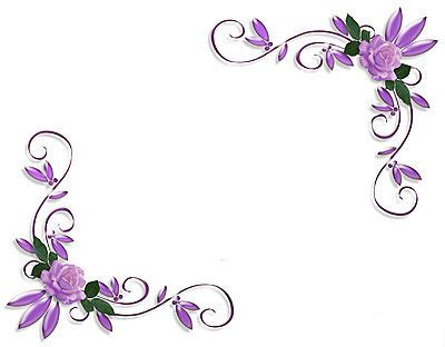 corner template designs page border designs for projects with flowers cliparts co