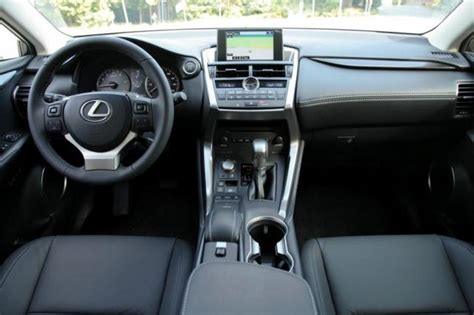 lexus nx interior trunk 2015 lexus nx review car reviews