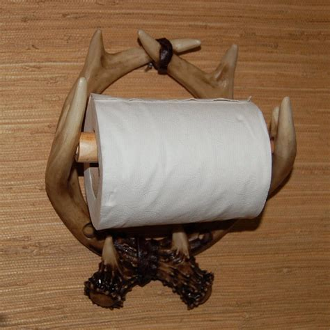 Animal Toilet Paper Holder by 7 Sweet Diy Deer Antler Crafts Pics