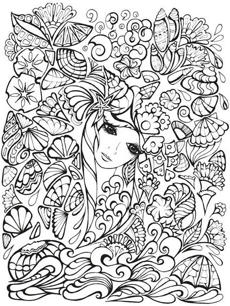 coloring pages of fairies and flowers flowers fairy adult coloring pages pinterest flower