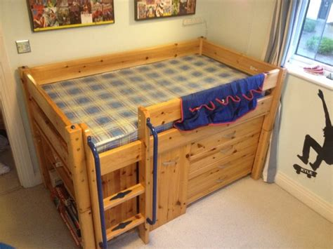 bed with built in desk childrens cabin bed with built in desk and storage for