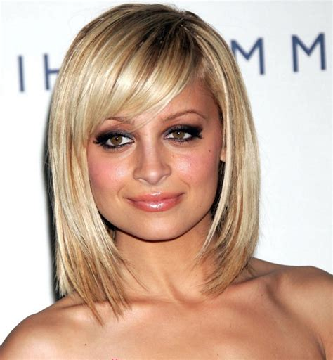 hairstyles for narrow faces best haircut for round face and thin hair the newest