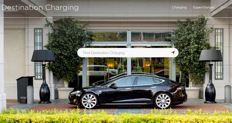 tesla charging becoming a tesla destination charging participant