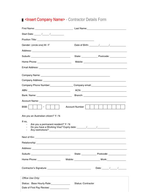 best photos of new employee form template employee new
