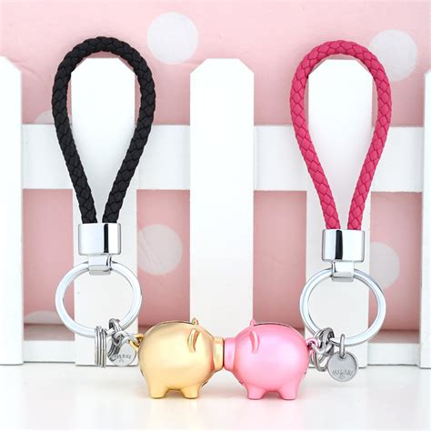 Ring Gantungan Kunci Keychain Type B popular pig pig animated buy cheap pig pig
