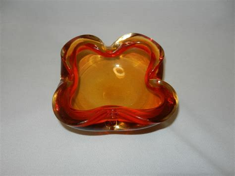 vintage murano glass ls vintage murano glass bowl or ashtray from