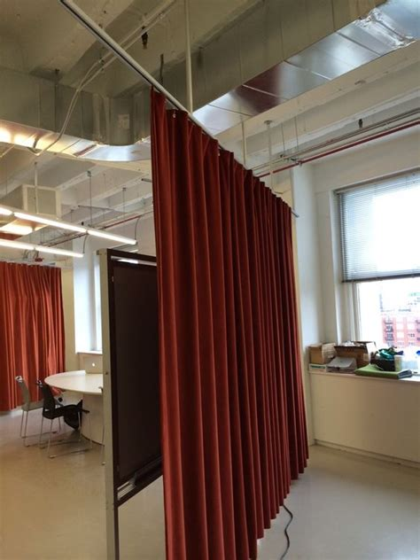 hanging curtains from ceiling curtain hanging ceilings and curtains on pinterest
