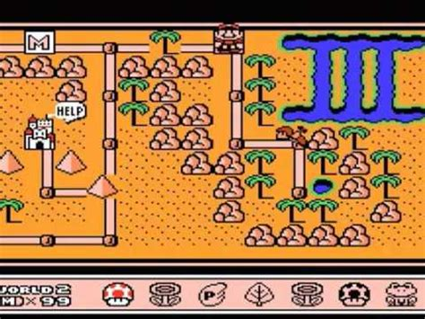 mushroom house world 2 super mario bros 3 world 2 white mushroom house whistle nes hard trance dance mix