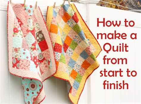 How To Sew A Patchwork Quilt - how to make a sewn patchwork quilt 28 images easy diy