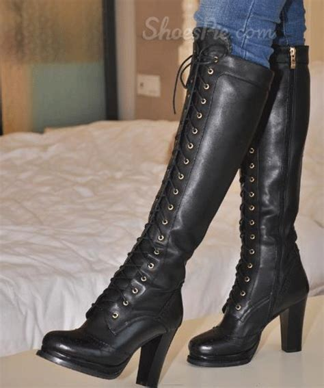 knee high heel lace up boots knee high sandals