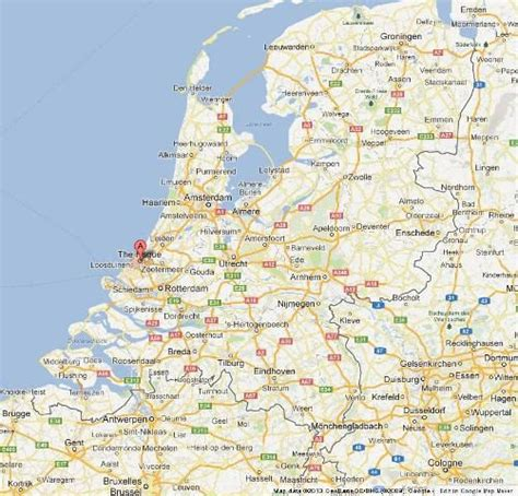 netherlands the hague map the hague international city in netherlands world easy
