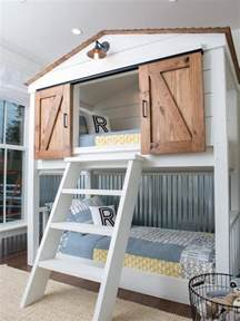 Inspired by bunk beds for a guest room the inspired room