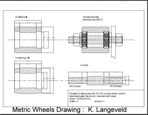 Wire Wheel Brush For Bench Grinder Diy Knifemaker S Info Center Bg 272 Diy 2 X 72 Quot Belt Grinder