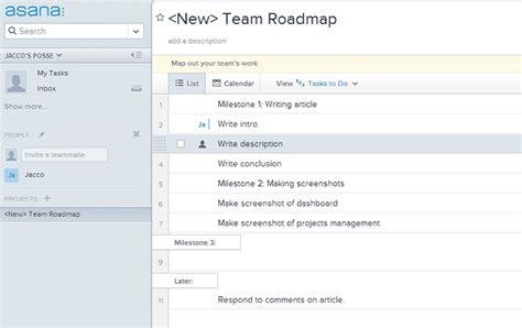 asana templates top 5 tools for project management sitepoint