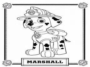 paw patrol marshall coloring page paw patrol coloring pages marshall www imgkid the