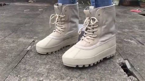 Adidas Yessy Premium adidas yeezy 950 boot peyote on foot from gogokicks net