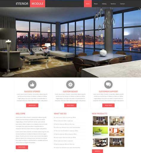 50 Interior Design Furniture Website Templates Freshdesignweb Free Responsive Website Templates For Interior Design