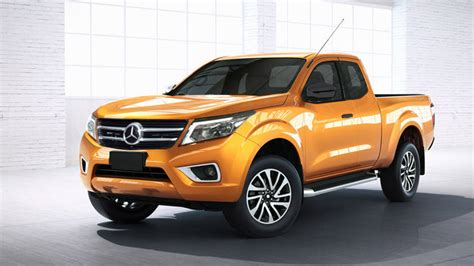 2018 mercedes x class truck to debut at 2016