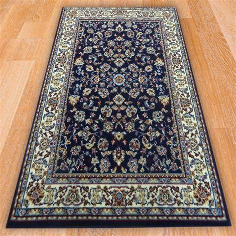 Blue Persian Style Rug Carpet Runners Uk Looking Rugs
