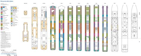 deck plans britannia deck plan deck plans and designs cruise ship