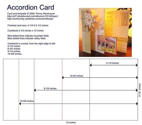 accordion fold card template 21 best images about accordion book on
