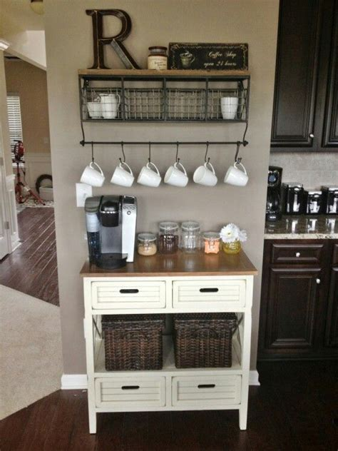 coffee nook ideas coffee nook for coffee lovers pinterest