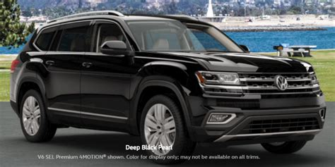 atlas volkswagen black 2018 volkswagen atlas colors