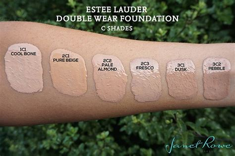 estee lauder foundation colors estee lauder wear foundation swatches make up