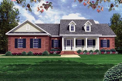 2547 square feet exterior home elevation house design plans southern style house plan 3 beds 2 00 baths 1500 sq ft