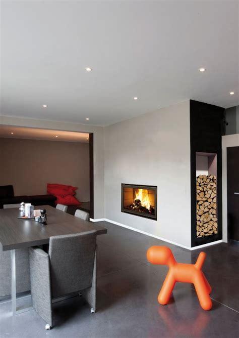 cheminee moderne design a bois chemin 233 e design avec insert bois bodart gonay design