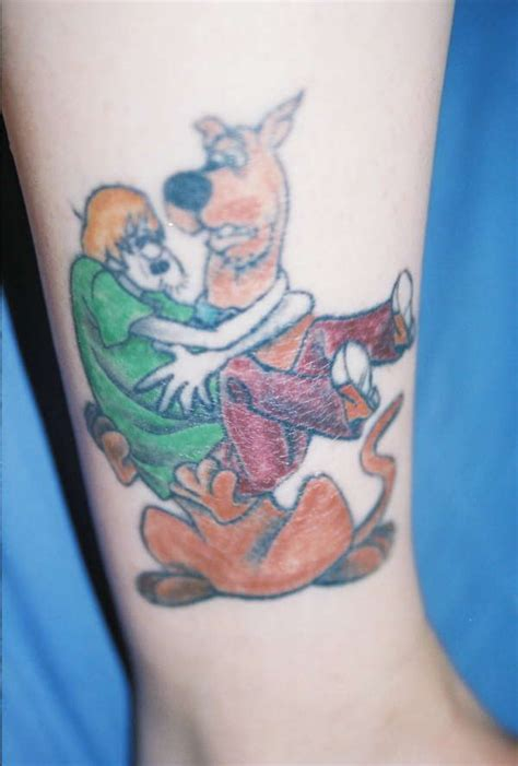 scooby doo and shaggy tattoo