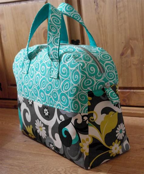 free pattern overnight bag sewing pattern weekender overnight travel bag pn501 pdf